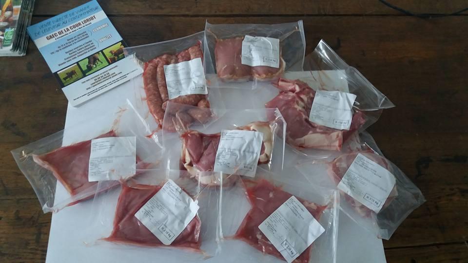 Découvrez la composition des colis de viande bovine